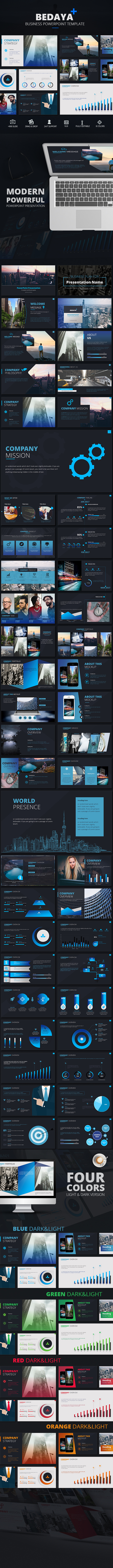 Bedaya Business Google Slides Template - Google Slides Presentation Templates