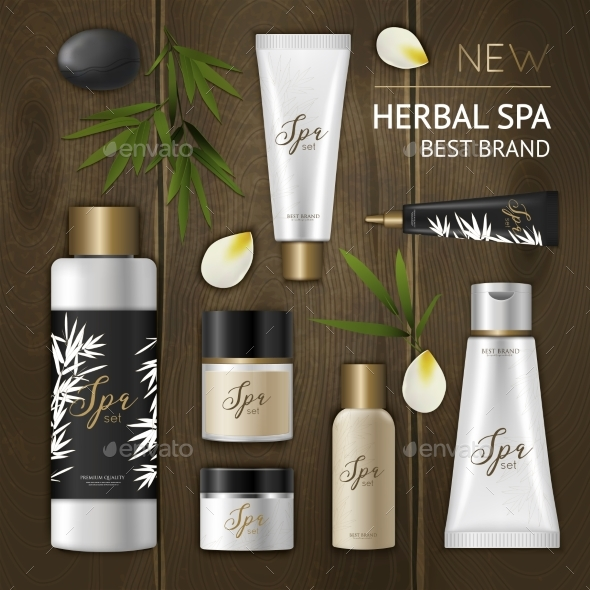 Spa Cosmetic Composition - Retail Commercial / Shopping