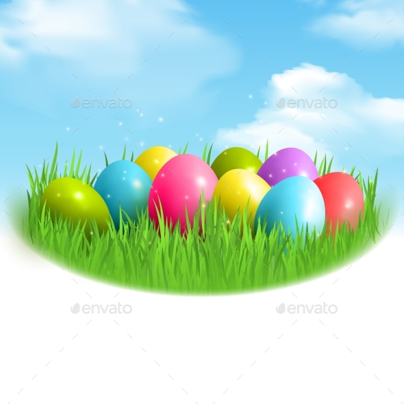 Magic Eggs Outdoor Composition - Miscellaneous Seasons/Holidays