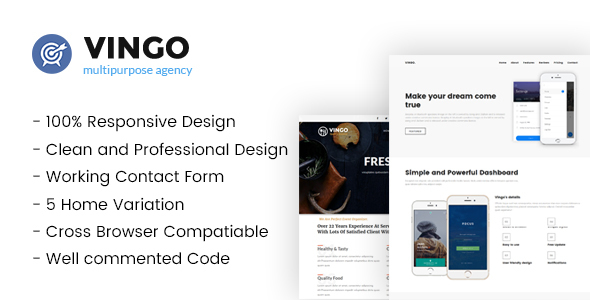 Vingo-Multipurpose Business Template