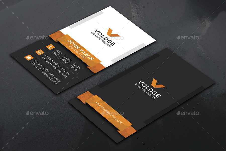 Vertical Business Card by vazon