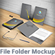 Presentation Folder Mockup - GraphicRiver Item for Sale