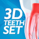 3D Teeth Set - VideoHive Item for Sale