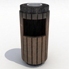 Model trash can preview 01.  thumbnail