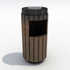Model trash can preview 3.  thumbnail