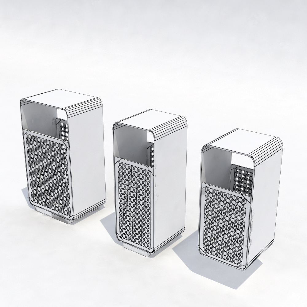 Image Of Outdoor Trash Cans Design