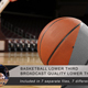 Basketball Lower Third - VideoHive Item for Sale