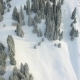 Aerial View Footage Adventure at Mountain, Winter. Snowboarding and Ski Area - VideoHive Item for Sale