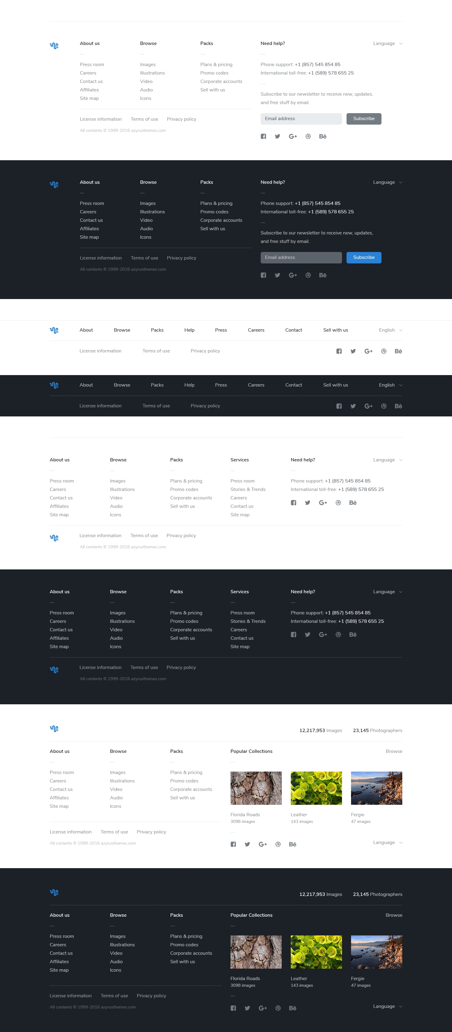 Pretty Footer Template Photos - Professional Resume Example Ideas ...
