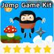 Jump Ninja Game Kit - GraphicRiver Item for Sale