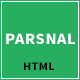 Parsnal - Personal Portfolio html5 template - ThemeForest Item for Sale