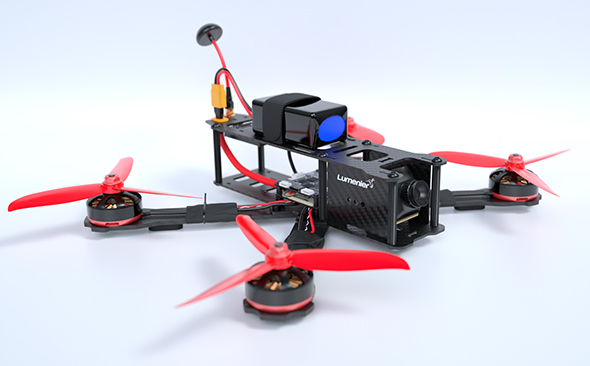 FPV Racing Quadcopter - 3DOcean Item for Sale