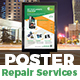 Smartphone & Electronics Product Repair Services Poster