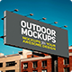 Outdoor Mockups - GraphicRiver Item for Sale