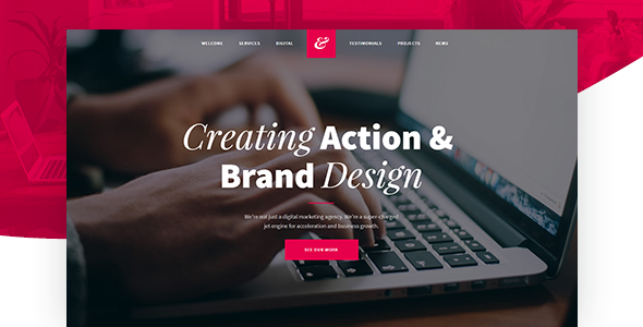 Krita – Creative Agency Muse Template