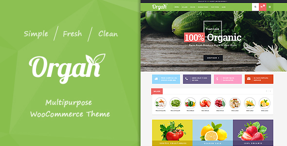 Organ – Multipurpose WooCommerce Theme
