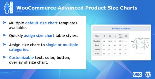 WooCommerce Advanced Product Size Charts - CodeCanyon Item for Sale