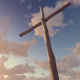 Old Wooden Cross - Sunset - VideoHive Item for Sale