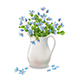 Spring Flowers in Jug - GraphicRiver Item for Sale