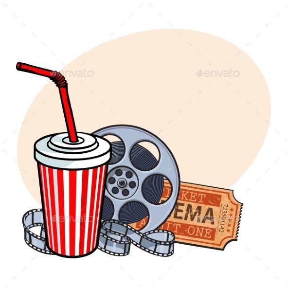Cinema Attributes - Decorative Symbols Decorative