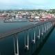 Bridge of City Tromso, Norway