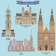 Famous Places in Netherlands - GraphicRiver Item for Sale