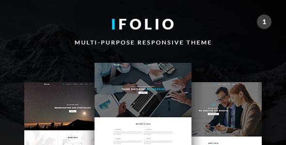 Ifolio - Responsive Multi-Purpose Theme - Creative WordPress