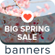 Big Spring Sale Ad Banners - GraphicRiver Item for Sale