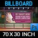 Pregnancy Billboard Template - GraphicRiver Item for Sale