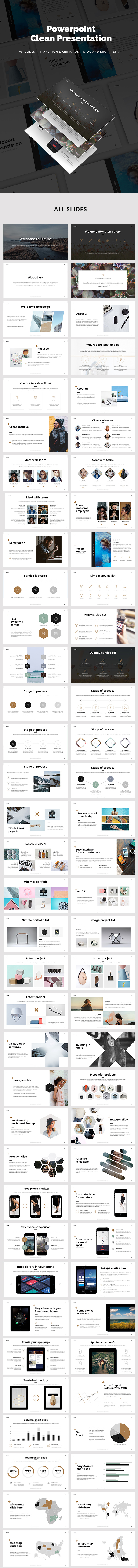 Minimal Presentation - PowerPoint Templates Presentation Templates