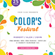 Color Festival Flyer - GraphicRiver Item for Sale