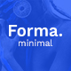 Forma. - Minimal PSD Template - ThemeForest Item for Sale