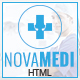 Novamedi - One Page Medical HTML5 Template - ThemeForest Item for Sale