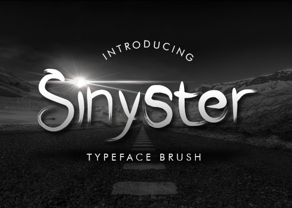 Sinyster - Cool Fonts