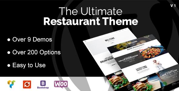 DB Restaurant WordPress Theme