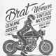 Brat Women Genuine Riders T-Shirt - GraphicRiver Item for Sale