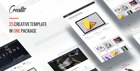 Multiple Creative HTML5 Template