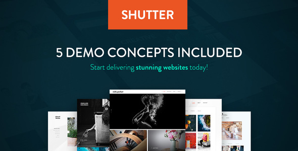 Shutter – Photography WordPress Theme