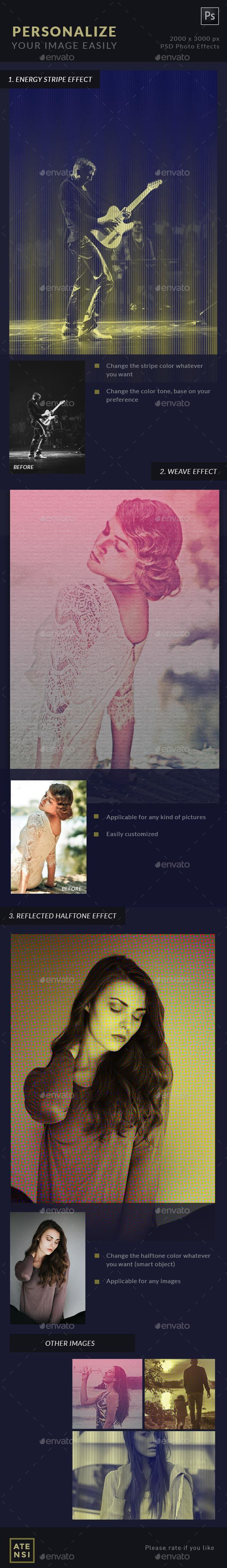 Vivid Photo Effects - Photo Templates Graphics
