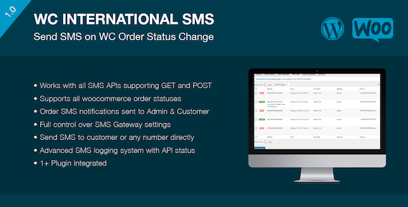 WooCommerce International SMS - CodeCanyon Item for Sale