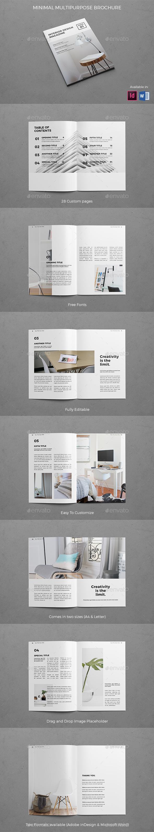 Modern Architecture Brochure - Brochures Print Templates