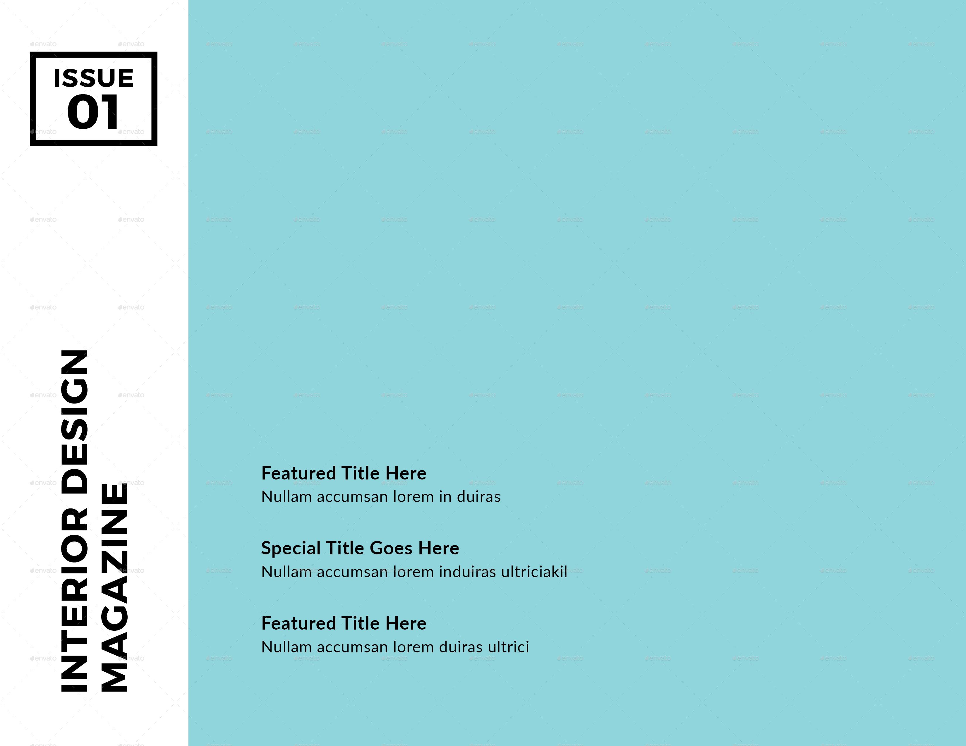 Modern Architecture Landscape Brochure