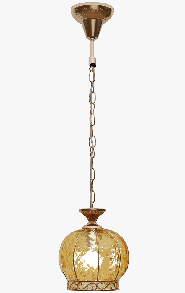 Hanging lamp Arte Lamp A2106SP-1AB - 3DOcean Item for Sale