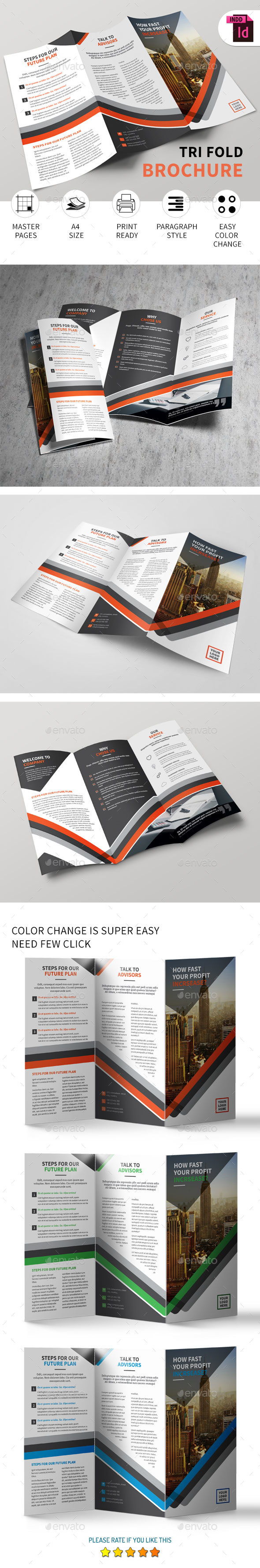 Tri-fold Brochure Vol.9 - Corporate Brochures