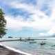 Panorama View of Tropical Bali Island, Indonesia