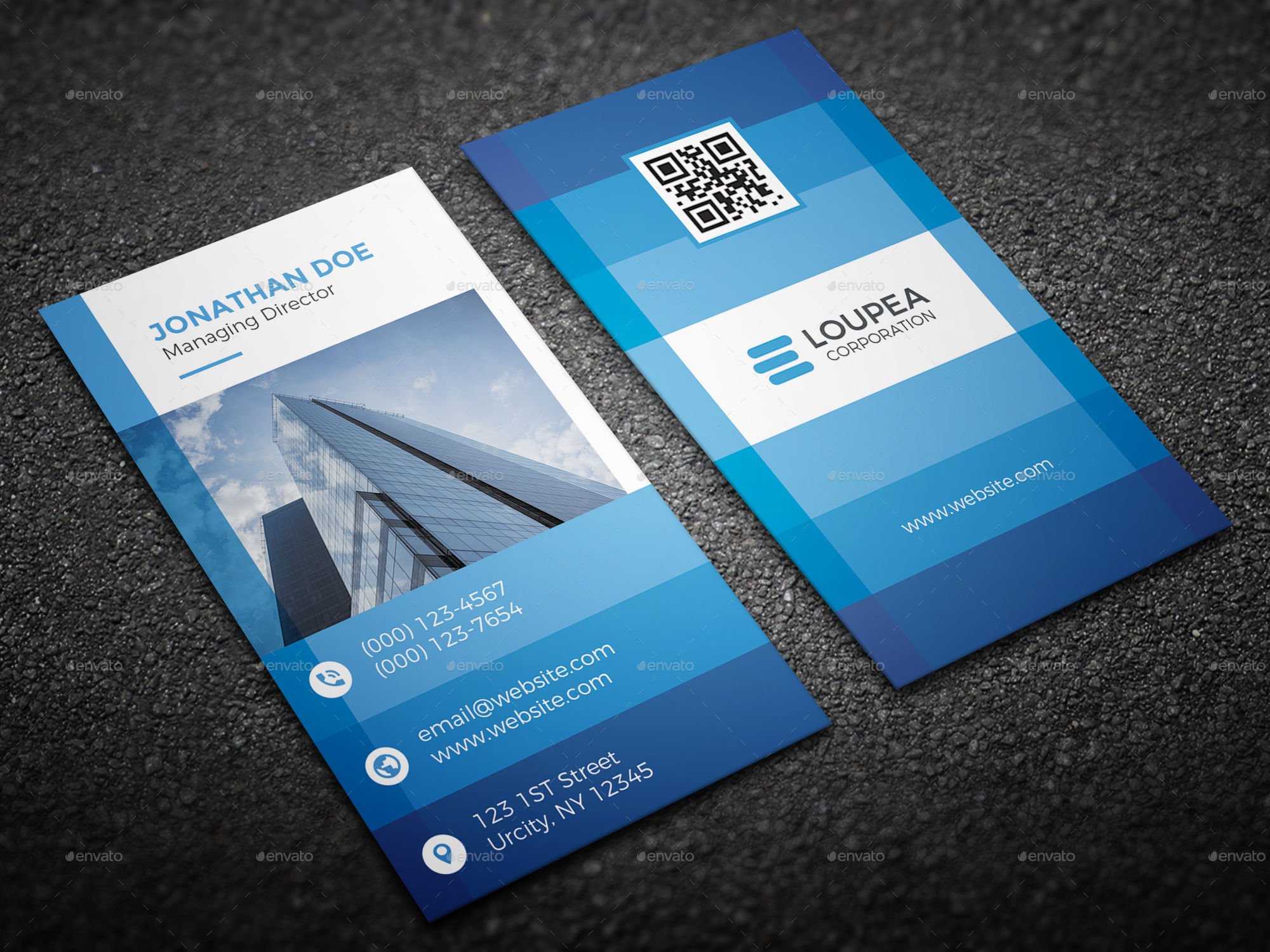 Corporate Business Card by herlannawwi | GraphicRiver