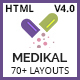 Medikal - Health & Medical Responsive HTML5 Template Nulled