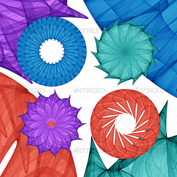 Mandalas 02 - Decorative Symbols Decorative