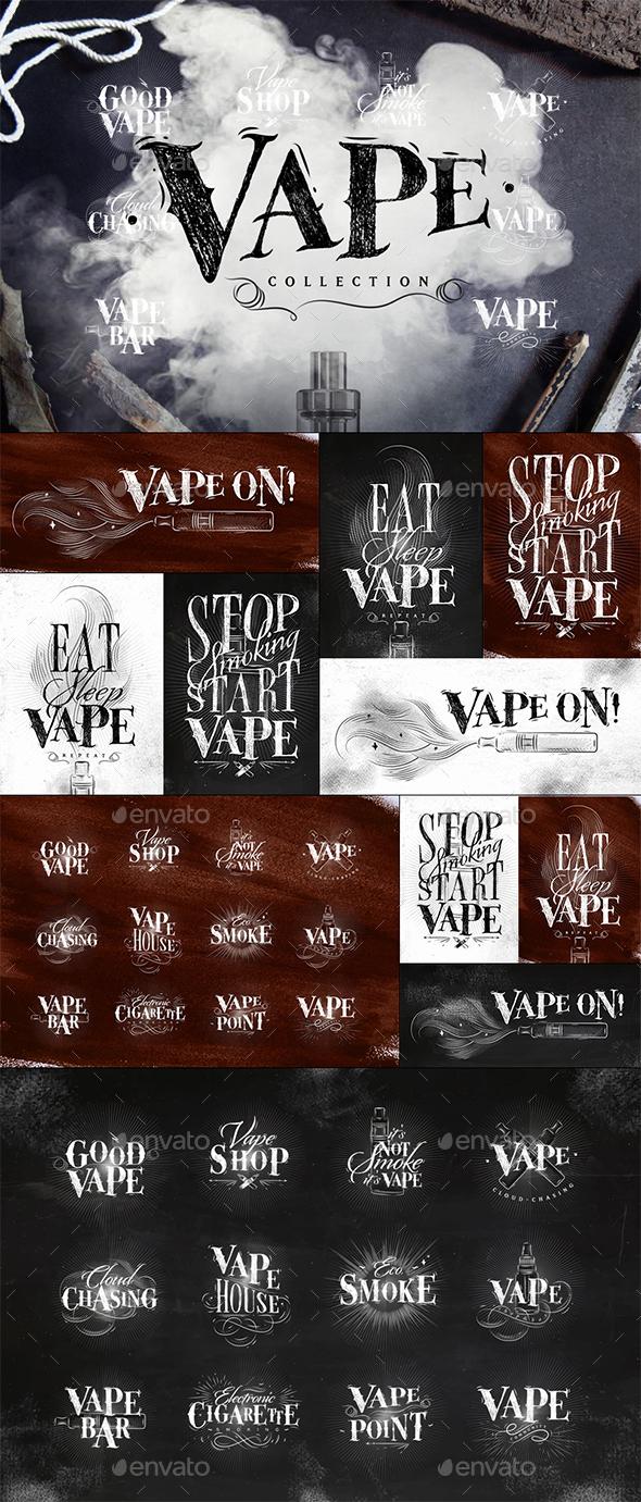 Vape Collection - Miscellaneous Conceptual