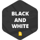 Black & White - Google Slide - GraphicRiver Item for Sale